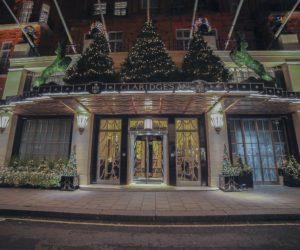 Claridge's Christmas Tree Gets Apple Makeover