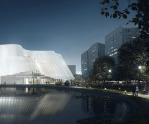 New China Philharmonic Hall Design By MAD Architects