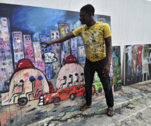 Interview: Ivorian Artist Aboudia