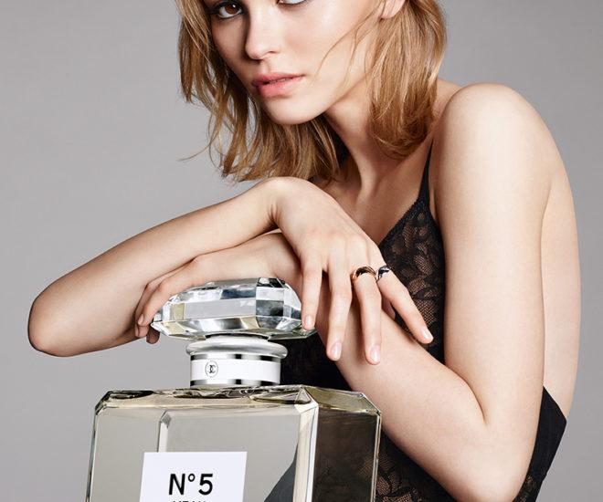Lily-Rose Depp Chanel No.5 L'Eau