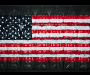 USA flag moncler thom browne