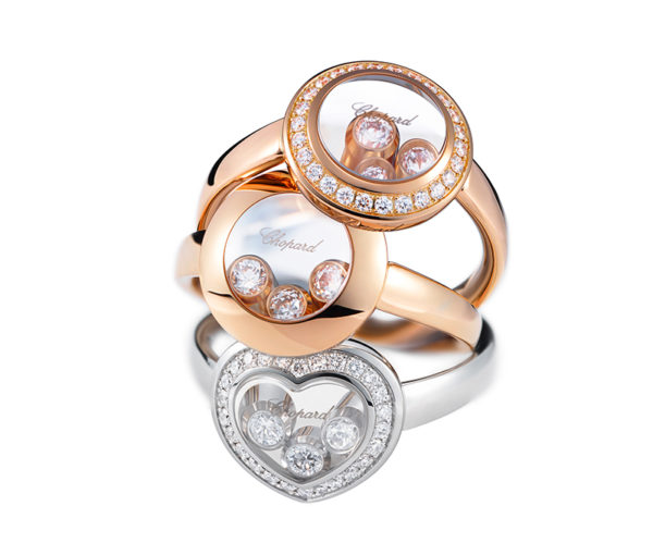 Chopard Happy Curves Rings