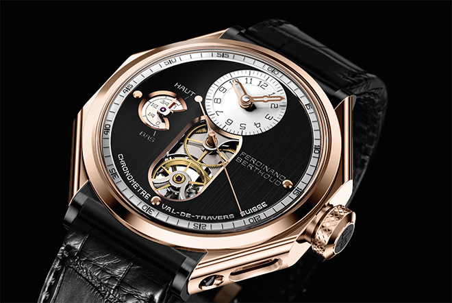 Ferdinand Berthoud Chronomètre FB 1, which draws its movement and design elements from marine chronometers of yore.