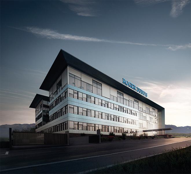 Roger Dubuis manufacture in Geneva.