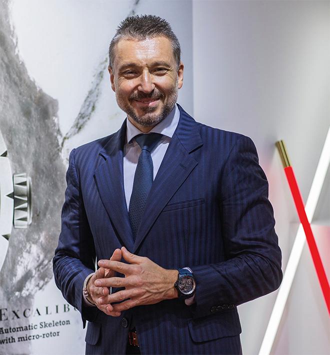 Roger Dubuis CEO Jean-Marc Pontroué.