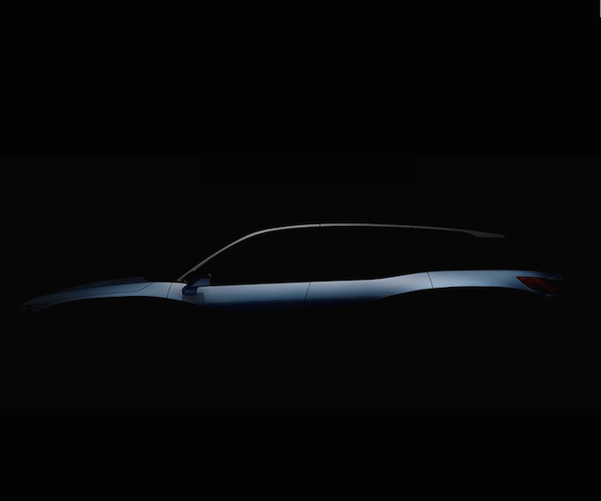 NIO's inaugural production car for the Chinese market, an all-electric SUV codenamed ES8. Image courtesy of NIOSocial Facebook Page