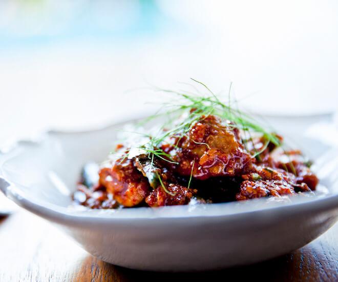 Red chicken curry at Nahm, Bangkok