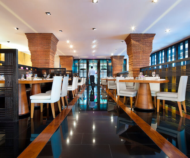 Nahm restaurant at Como Metropolitan Bangkok