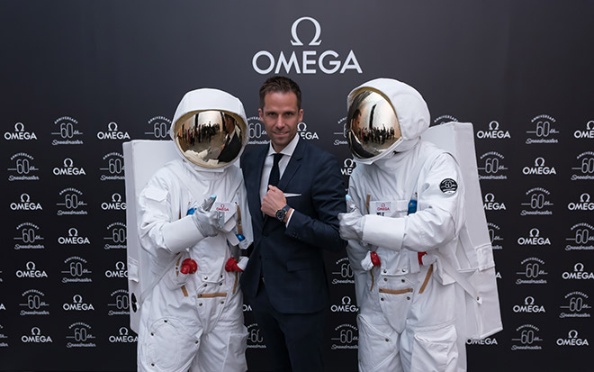 Head of Product Management Gregory Kissling was on hand to present Omega Baselworld 2017 novelties