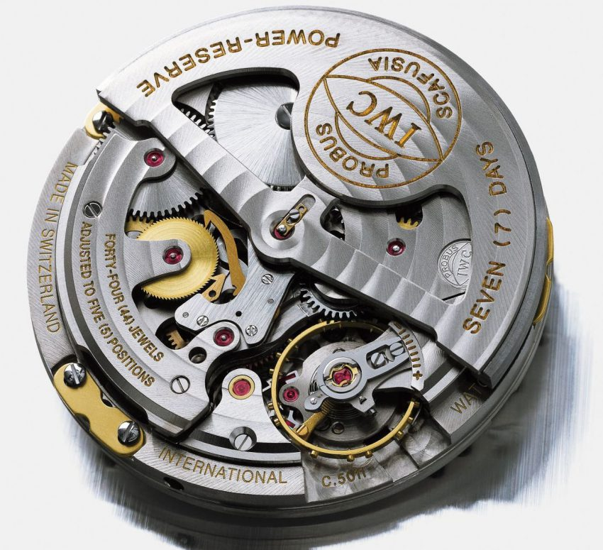 Early on, Kern fought for and saw the return of the Calibre 5000 where previous there weren't enough watchmakers to put them together fast enough for a commercial production run
