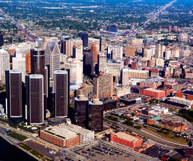 Detroit real estate luxury property palace magazine