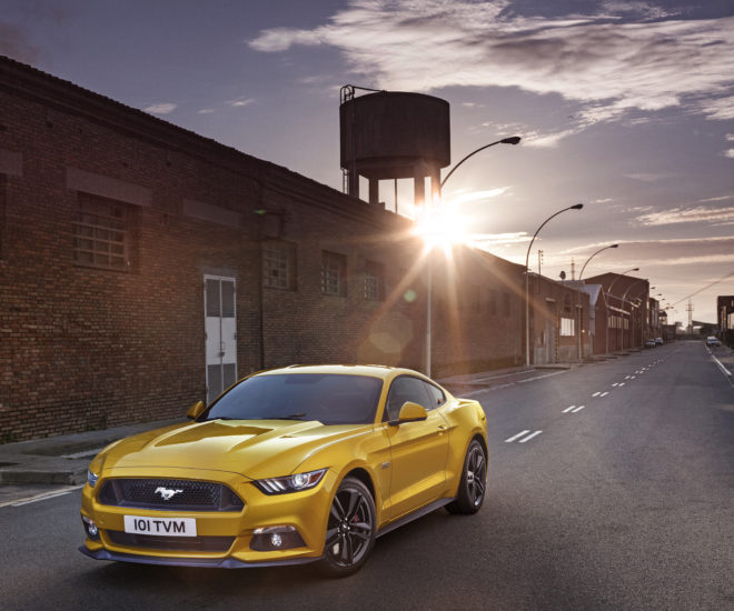 Ford Mustang 2015 (Photo credit: Ford/AFP)