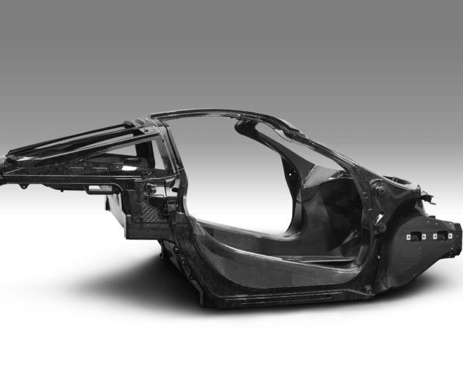 McLaren Automotive announces second-generation Super Series with a teaser image of its all-new carbon fiber monocage structure (Photo credit: McLaren Automotive)