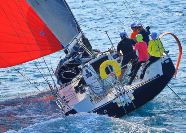 The Figaro 3's owners enjoy testing out the new arrival