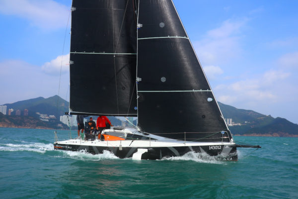 The Figaro Beneteau 3 is the world's first production foiling monohull