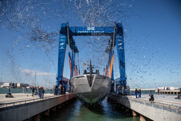Ferretti Group CEO Alberto Galassi has billed 2019 as 'the year of Pershing'
