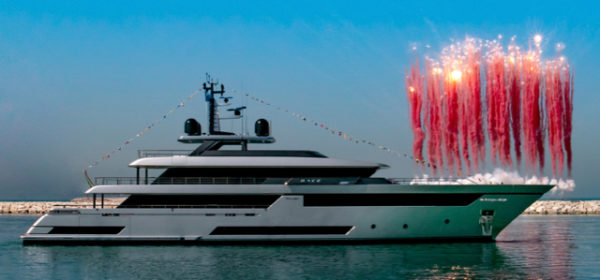 Riva has launched its 50m flagship, named Race by her owner