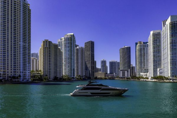 The Riva 90' Argo was unveiled at a private preview in Miami