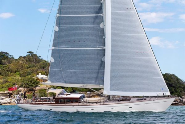 The 25m sailing yacht Atao is part of the line-up