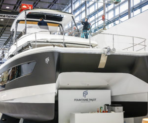 Fountaine Pajot unveiled its new MY 40 at Boot Dusseldorf