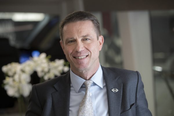 CEO Christian Marti is only the second German to work at a senior management level in Sunseeker