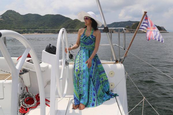 Cynthia Wong on her Dehler 42, Daydream