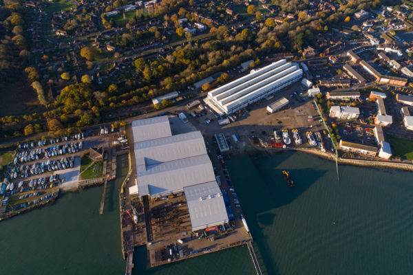 The Fairline Marine Park will eventually house production of all of its boats over 60ft