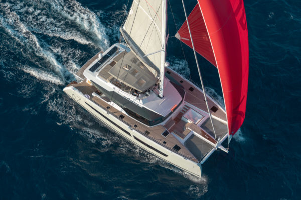 The Fountaine Pajot Alegria 67 won Best Multihull Sailing Yacht in Asia (over 15m) at the 2019 Christofle Yacht Style Awards