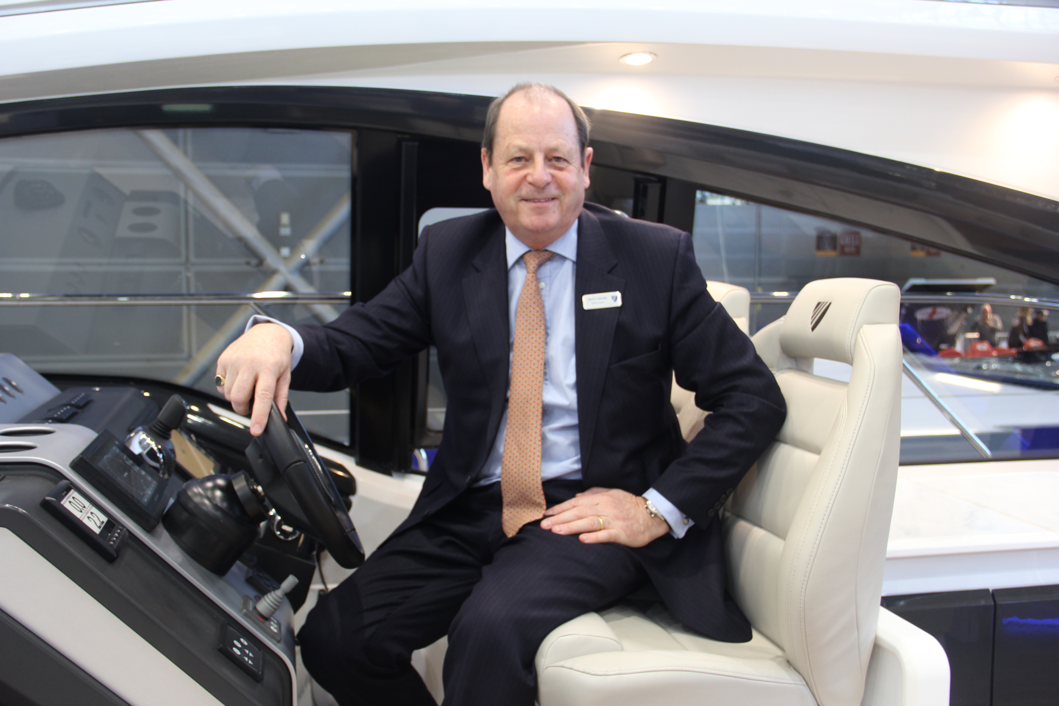David Tydeman, Fairline's Executive Chairman, is primarily focused on production in 2019