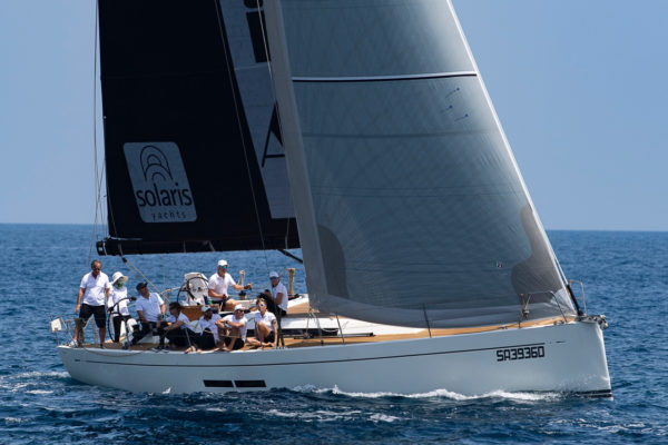 As an Asian woman, Wong was in the minority among skippers at the Solaris Cup