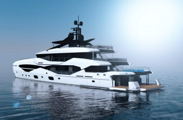 The 161 Yacht to be built by Icon in the Netherlands will be Sunseeker's biggest-ever model