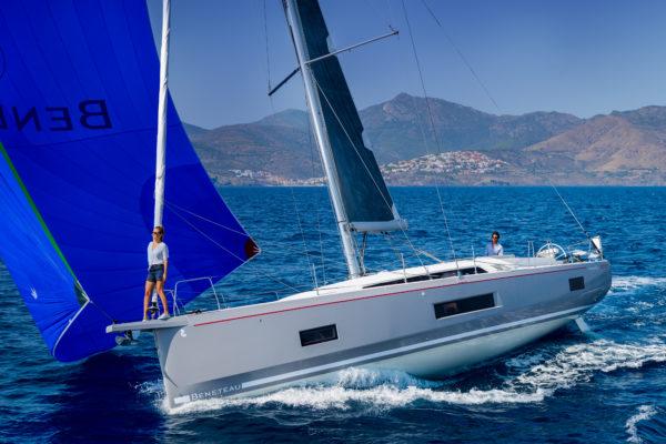 The Beneteau Oceanis 46.1 is a stunningly sleek design