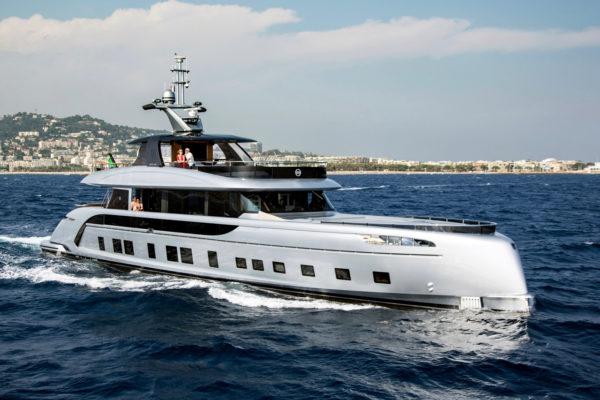 Dynamiq's range of all-aluminium yachts include the GTT 115