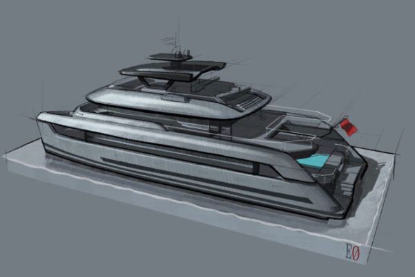 SpaceCats are built in SilverYachts' facility in China under supervision of the builder's Australian management team