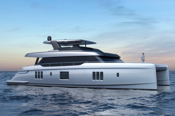 Sunreef will showcase the 80 Power at Cannes a year after unveiling the 80 sailing cat