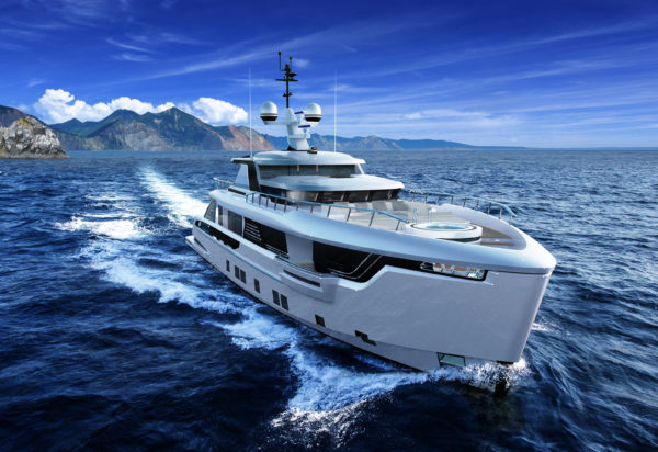 The Global 330 will spearhead Dynamiq's new series of explorer yachts