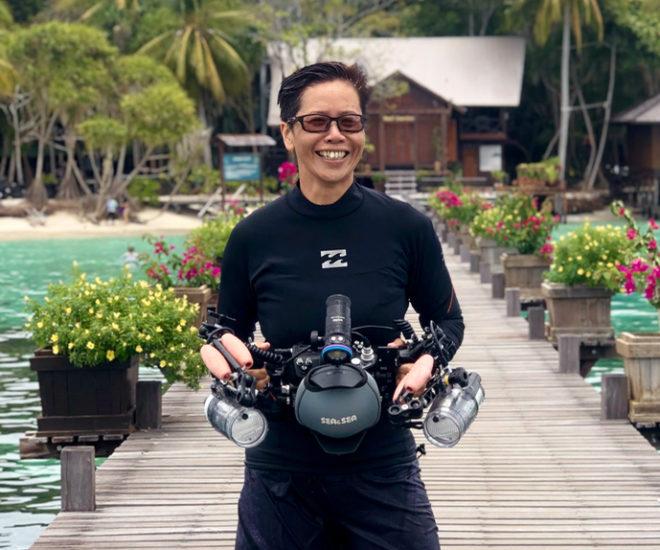 Dr Achier Chung, Lead Marine Biologist, Reef Guardian