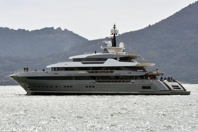 Sanlorenzo's new flagship 64Steel, Attila
