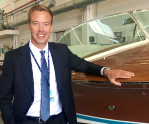 Andrew Pitchford, Sales and Marketing Manager, Ferretti Group Asia-Pacific