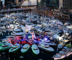 Sydney International Boat Show, Cockle Bay Marina, Darling Harbour