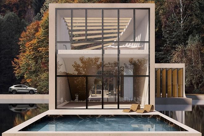 Indoor-outdoor living, Swiss style