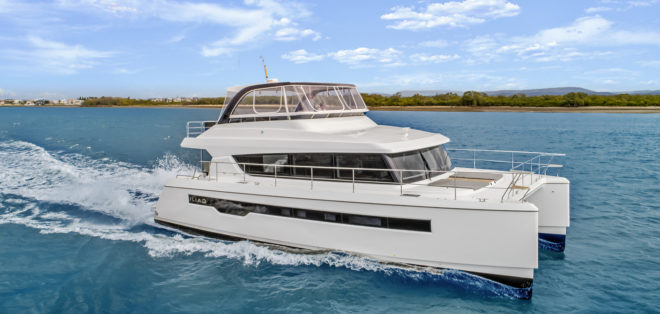 The Iliad 50 was the first model from the new powercat brand built in China and unveiled in Australia