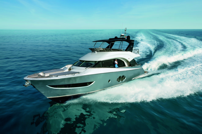 The MCY 66 is the second of Monte Carlo Yachts' 'second-generation' models unveiled in 2019