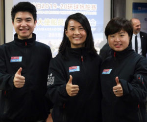 Wu Kefu, Chen Jiaqi and He Ping are the local Zhuhai-based representatives