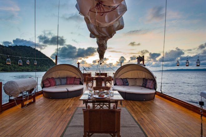Camper & Nicholson's charter fleet includes Sequoia in Indonesia