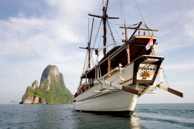 The 50m Silolona is the pioneer of the current fleet of luxury phinisis for charter