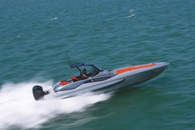 The super-fast Hawk 38 introduces a new Performance range for Sunseeker