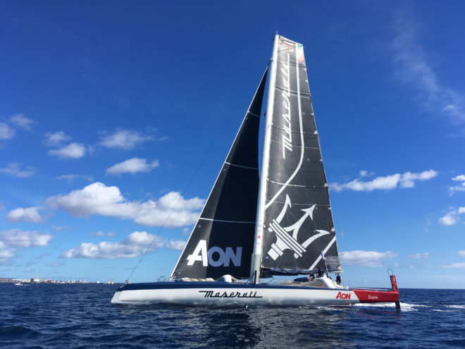 Maserati Multi70 will compete in the Hong Kong to Vietnam Race from October 16
