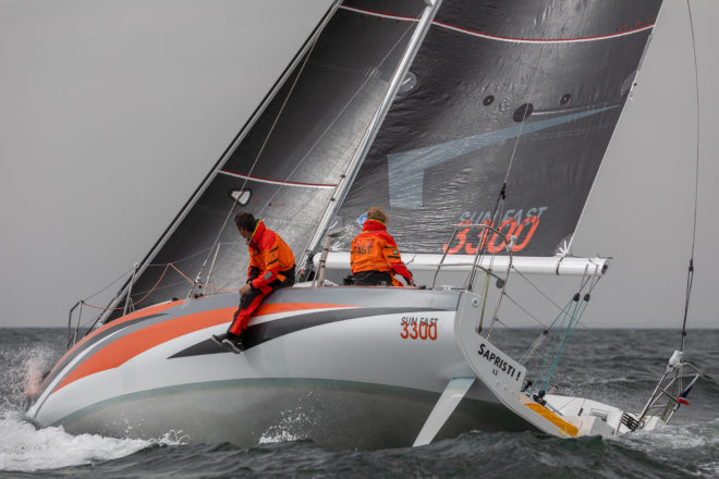 Jeanneau's Sun Fast 3300 has been thoroughly tested this year in tough conditions and races