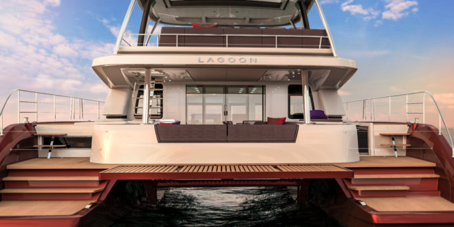 Lagoon's Sixty 7 is a big addition to the brand's range of power catamarans